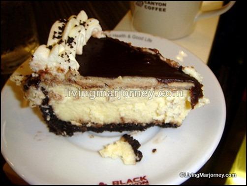 Black Canyon Coffee: Oreo Cheesecake