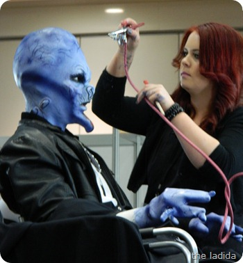 IMATS Sydney 2012 - Student Battle of the Brushes - Character Prosthetic -Danielle Veltmeyer (1)
