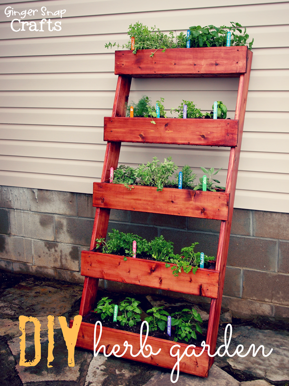 DIY herb garden with The Home Depot