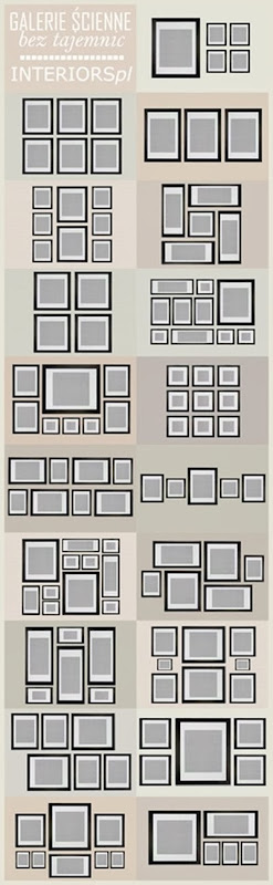 Photo gallery Wall Layouts