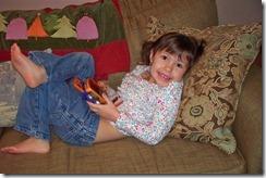 Sabrina with VSmile game