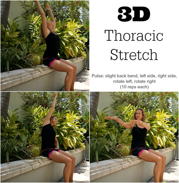 3D Thoracic Stretch to reduce impact of all day sitting