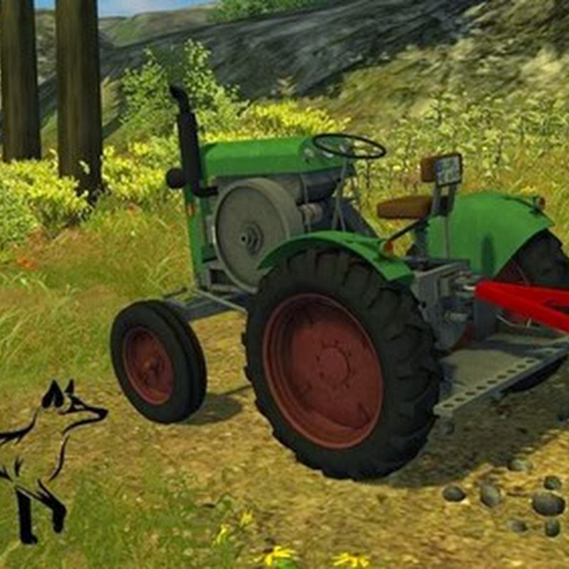 Farming simulator 2013 - Age homemade tractor v 1.0 MR