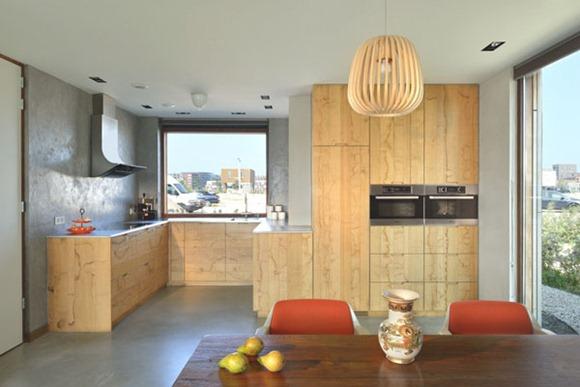 cocinas totalmente de madera