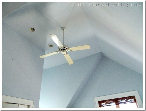 how to paint a vaulted ceiling 6