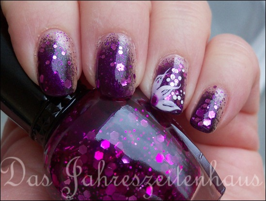 Black Purple Flower vol 2 b