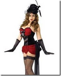 Burlesque Baby Fancy Dress Costume