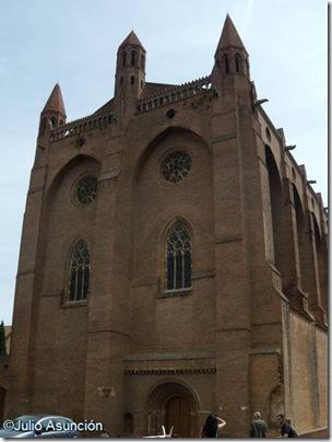 Fachada del Convento de los Jacobinos - Toulouse