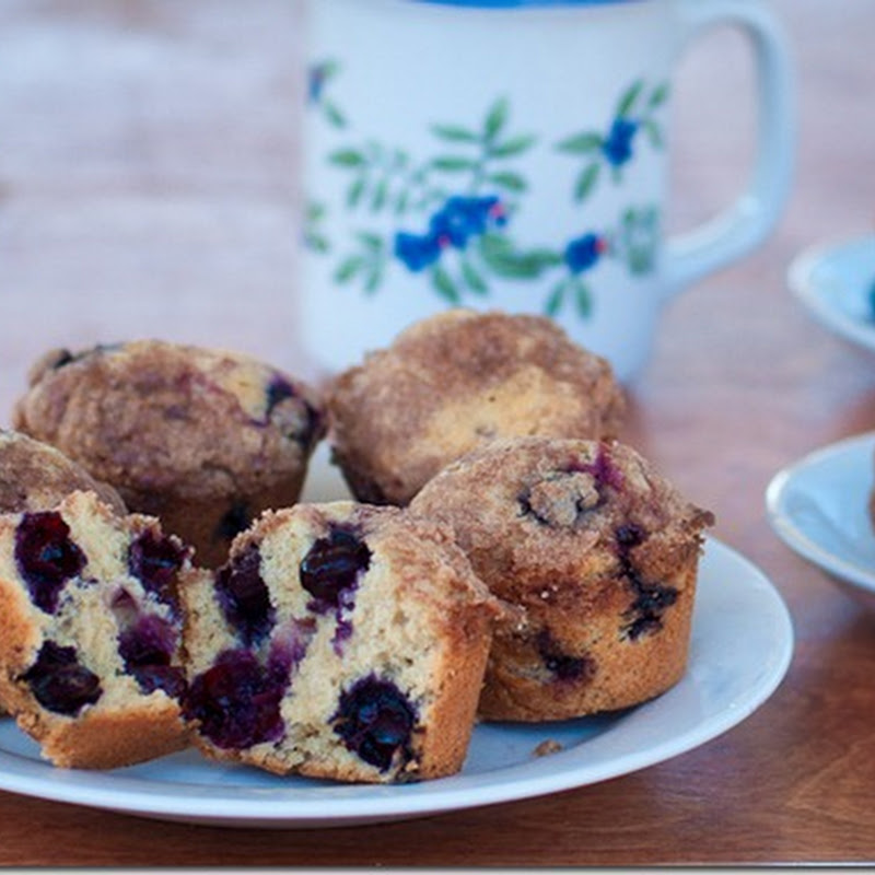 Blueberry Muffins –the best blueberry muffins