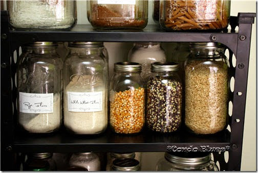 organize small pantry