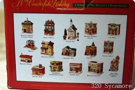 It's a Wonderful Life Village | 320 * Sycamore