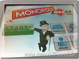 Monopoly zapped Beginn