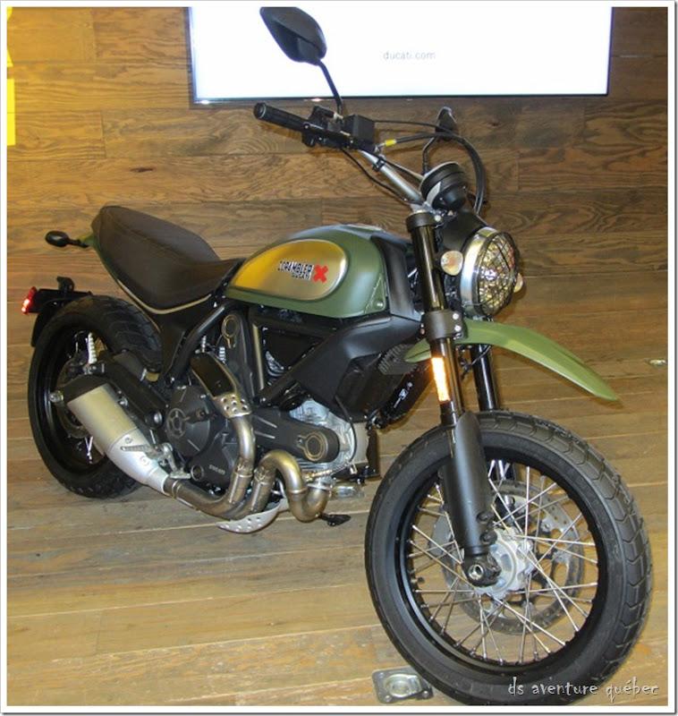 Salon Moto Montreal 2015 - Ducati Scrambler