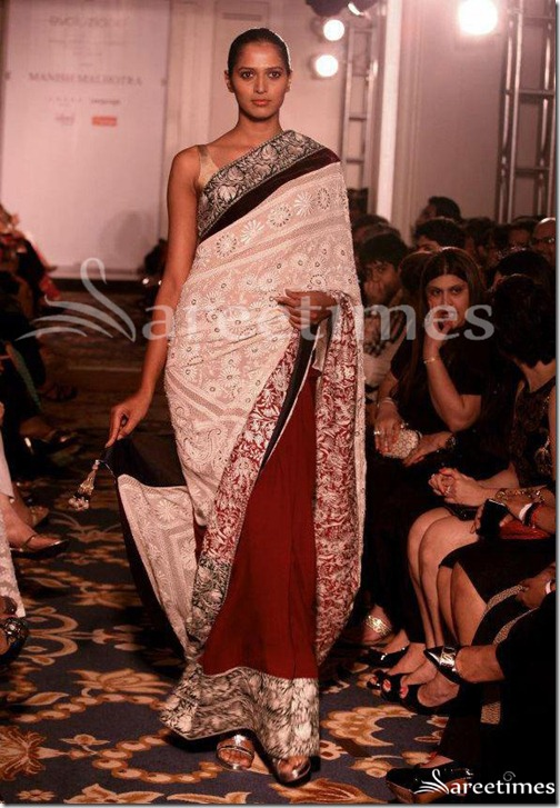 Manish_Malhotra_Half_and Half_Saree