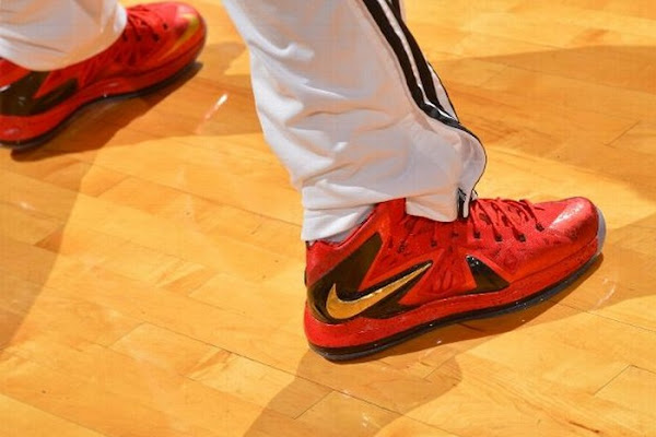 NIKE LEBRON X PS Elite NBA Finals Player Exclusive 8211 New Pics