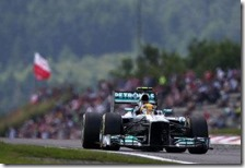 Hamilton conquista la pole del gran premio di Germania 2013
