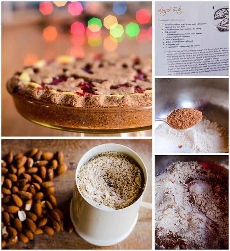 linzer cream torte
