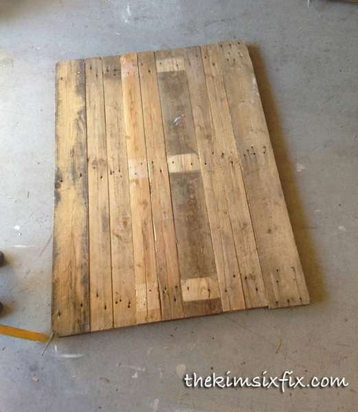 How To Make A Pallet Wood Sign The Kim Six Fix