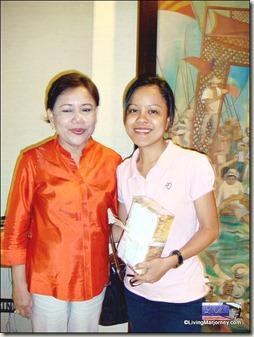 CongW. Cynthia Villar and LivingMarjorney