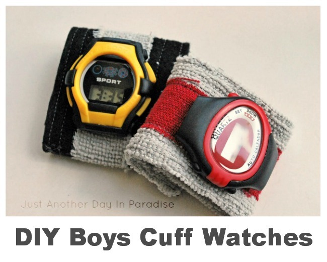 Boys Cuff Watches by Just Another Day In Paradise