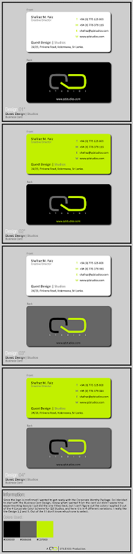 Business Card Design Examples