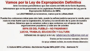 Campaña IMPA
