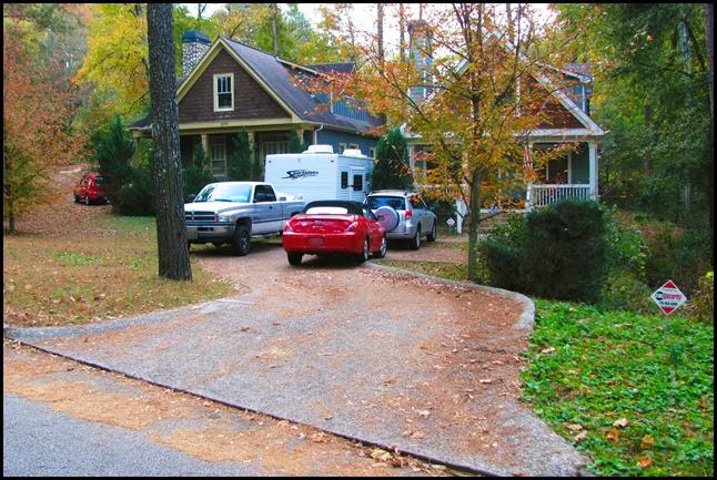 S driveway