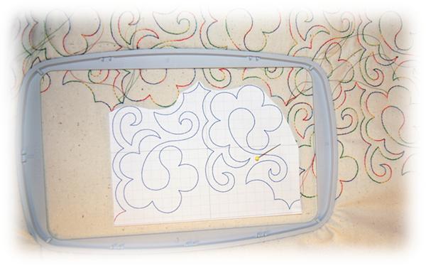 Papirmalen brukes også til å kontrollere plassering av hver enkelt rapport.