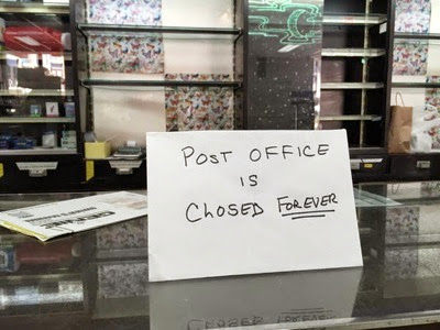 No more mail