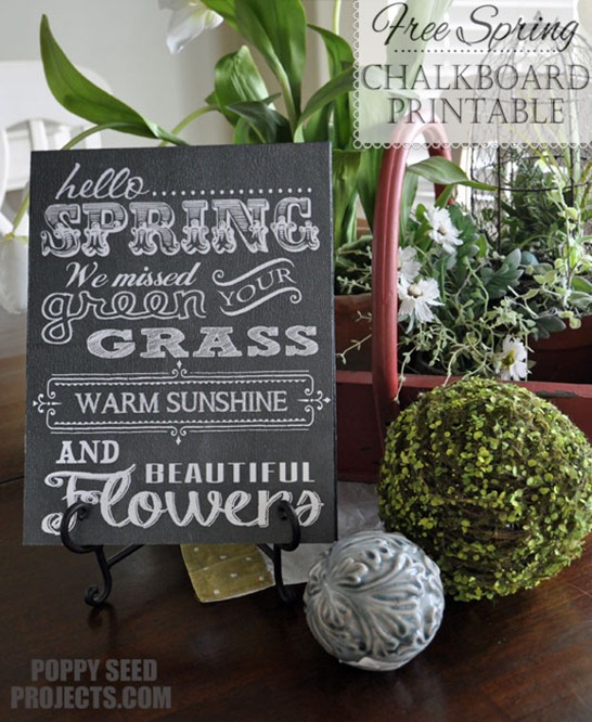 Free-Spring-Chalk-Board-Printable