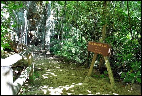 40 - Battleship Rock Trailhead - our descent trail