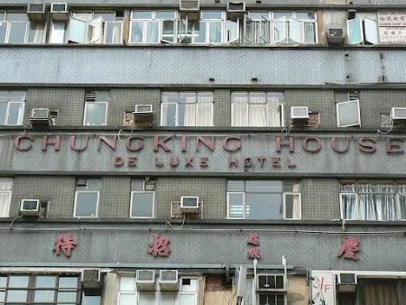 Hone Kong: Chungking mansions.