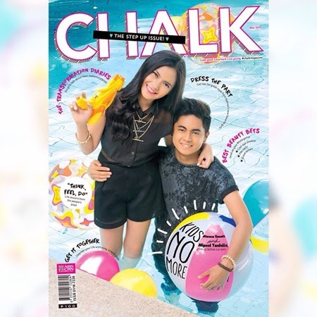 Bianca Umali and Miguel Tanfelix - Chalk March 2015