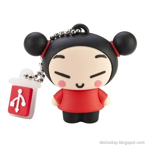 Cool girl USB flash drive