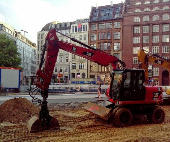 Bagger Hamburg