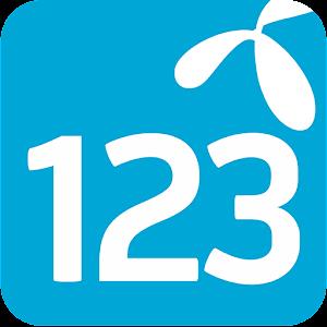 Android aplikacija 123 Meni