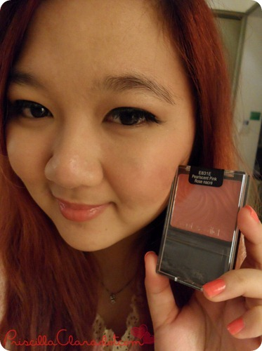 Priscilla Review Wet n Wild Blush on 6