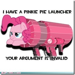 my little pony, friendship is magic, brony - Your Argument Is Invalid