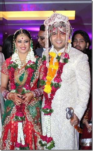 Swetha Tiwari Wedding Photos, Swetha Tiwari Marriage Pictures