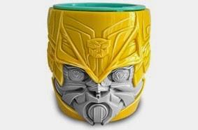 Copo Transformers - Páscoa 2015