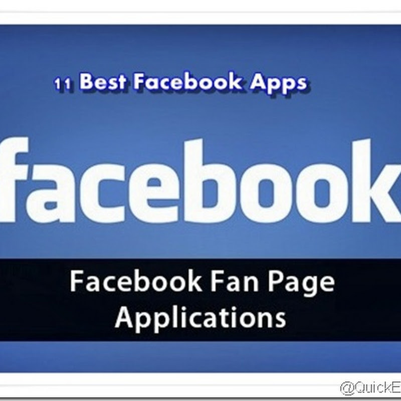 11 Best Facebook Fan Page Application for Facebook Pages