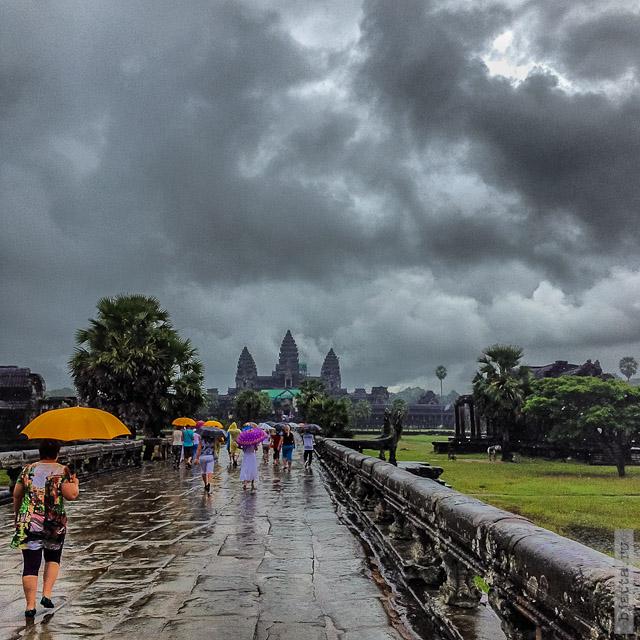 20. Сезон дождей. Таиланд 2555. Thailand. Angkor Wat. Cambodia. Angkor. Ангкор Ват. Камбоджа.