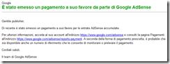 pagamento google adsense