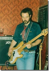 Dick with bass