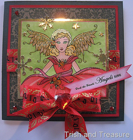 Christmas Angel Card 007