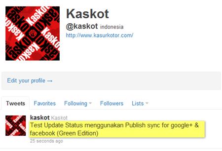 Menghubungkan Google  Plus ke Faceboo dan Twitter 3
