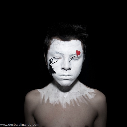 pintura de rosto desbaratinando (6)