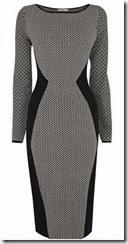Oasis Diamond Jaquard Knit Dress