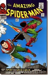 The amazing spider-man 39 y 40, desenmascarado por el que la marvel califica como su archienemigo, the green goblin. evento que lo perseguira de por vida.