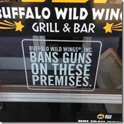 Buffalo-Wild-Wings-Gun-Free
